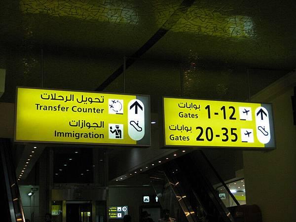 阿拉伯文指標