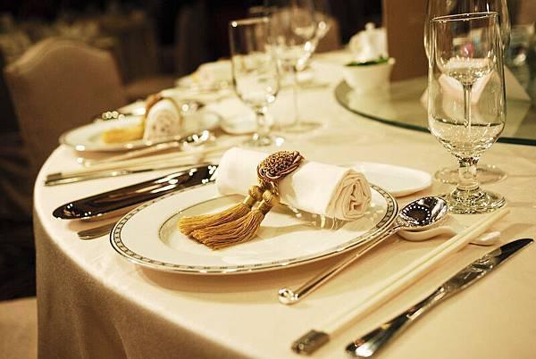 精緻的餐具