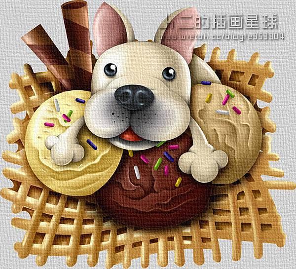 狗狗冰淇淋