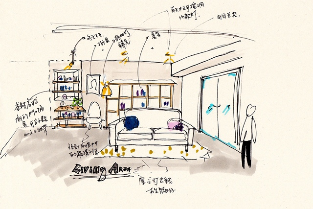 Sketch_客廳