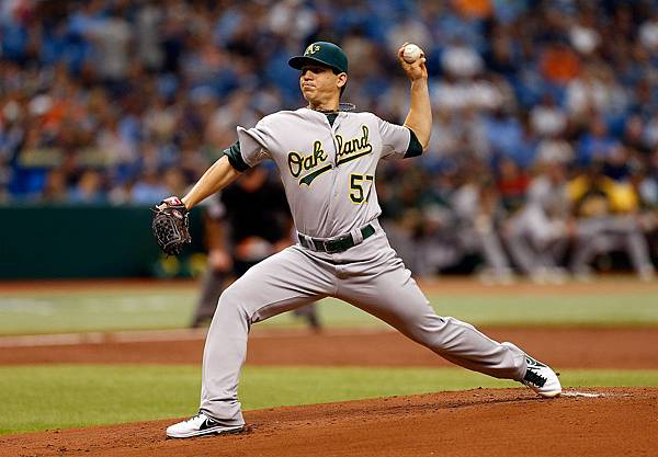 Tommy+Milone+Oakland+Athletics+v+Tampa+Bay+m63Bk7mwJzcx