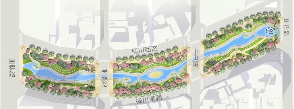 《台灣清溪川》【台中美景】柳川-媲美首爾清溪川,風華再現~~