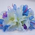 藍色繡球組花