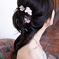 粉紅繡球組花