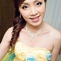 黃色繡球花環組