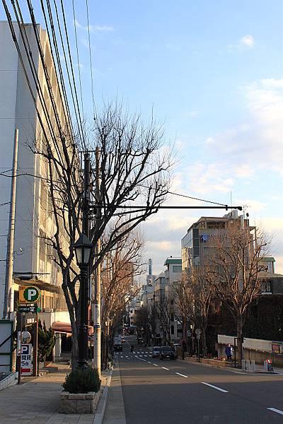 104.黃昏的北野阪