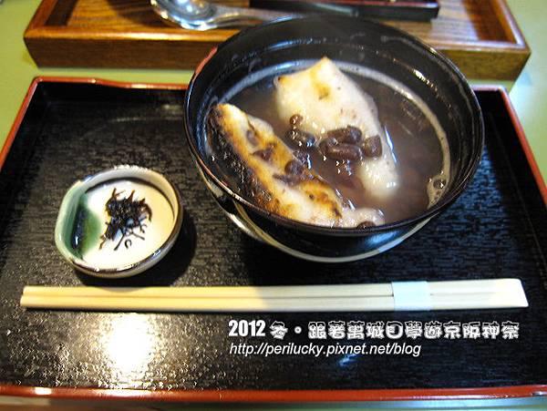 111.烤麻糬紅豆湯