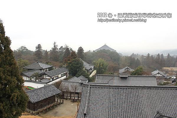 54.俯瞰陰雨綿綿的東大寺