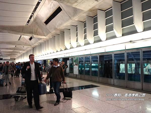 45.機場快線機場站月台