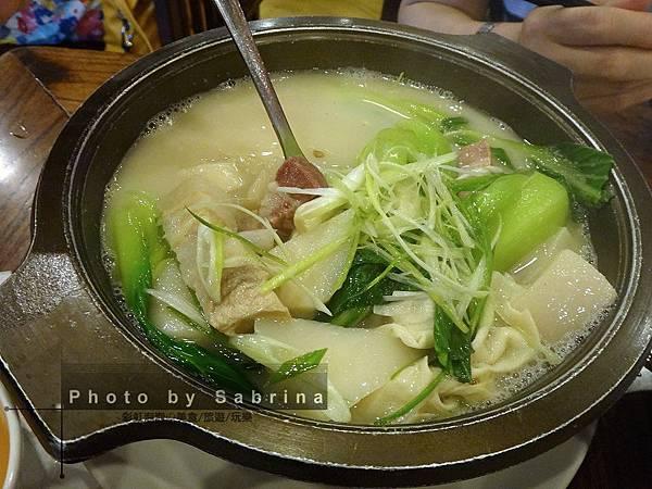 28.醃篤鮮湯
