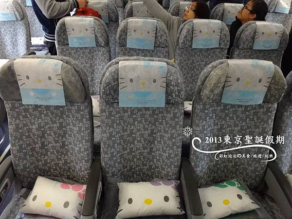5.長榮Hello Kitty機