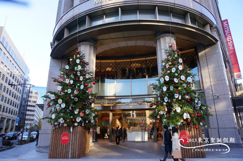 113.日本橋三越百貨聖誕樹