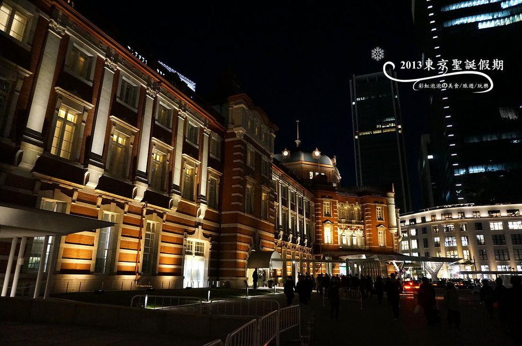 163.東京車站夜景
