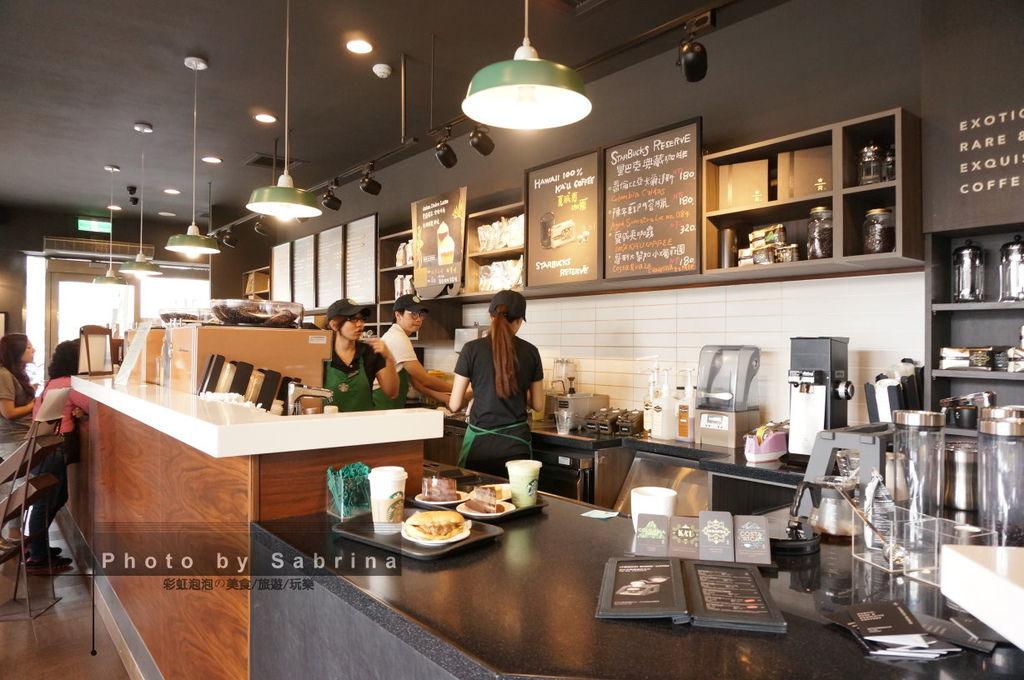 3.星巴克典藏咖啡門市Starbucks Reserve