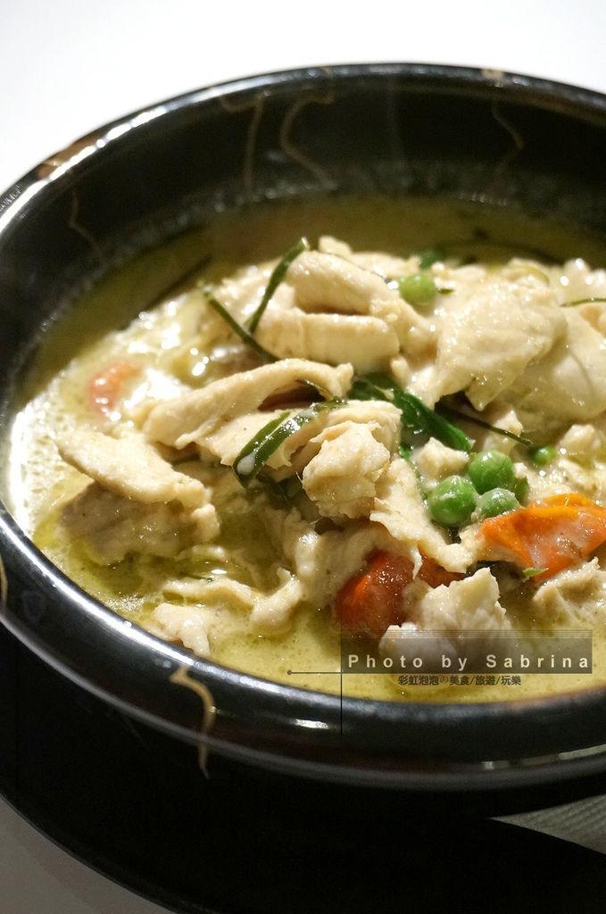 8.綠咖哩雞