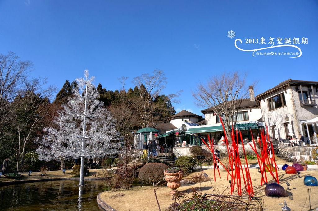 62.箱根玻璃之森美術館-聖誕樹