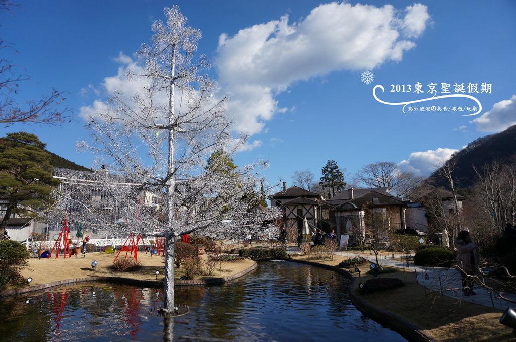 65.箱根玻璃之森美術館-聖誕樹