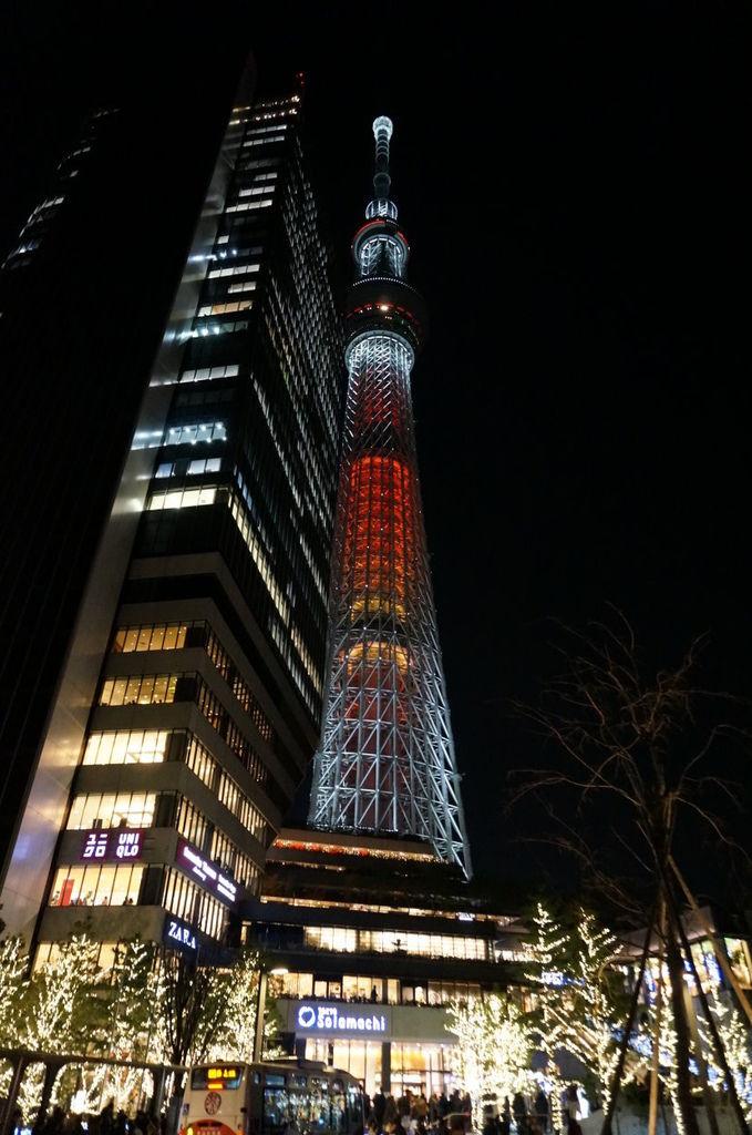 124.聖誕節的東京晴空塔