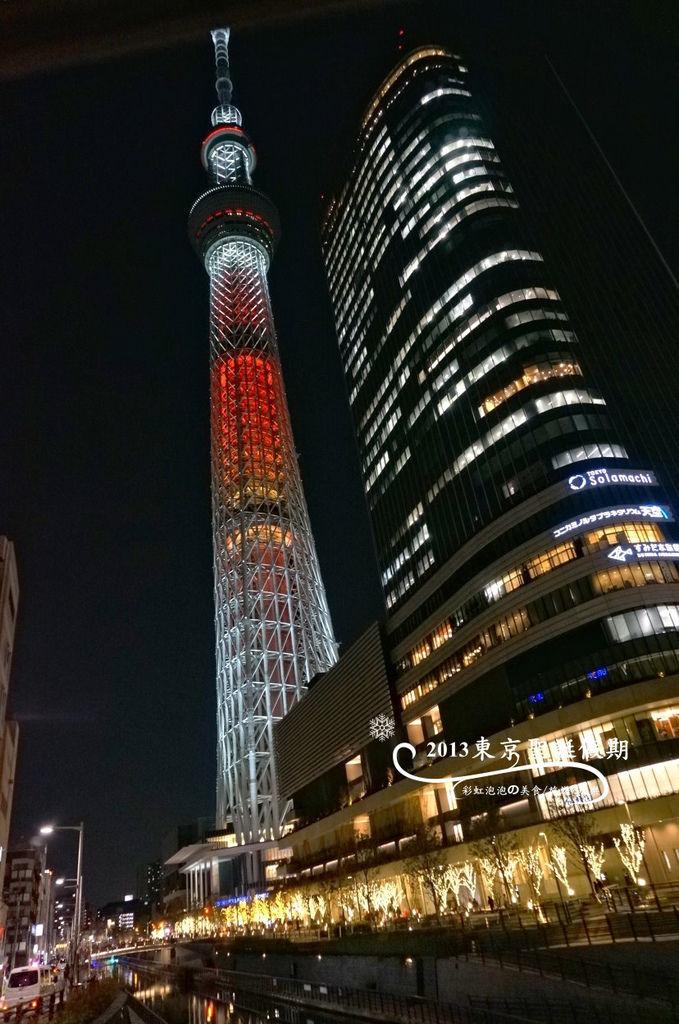 122.聖誕節的東京晴空塔