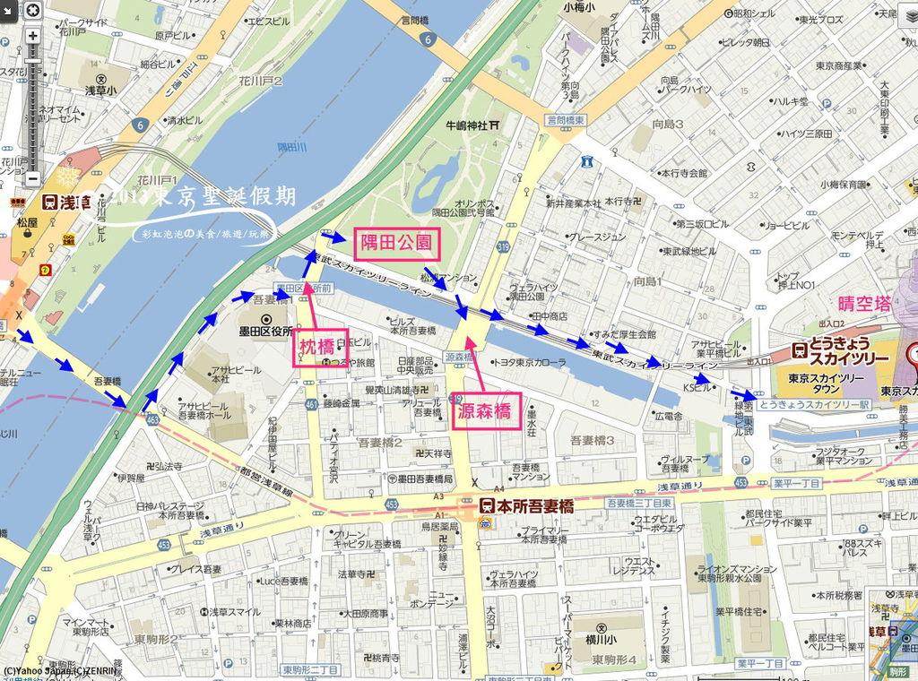 欣賞東京晴空塔最佳地點解析