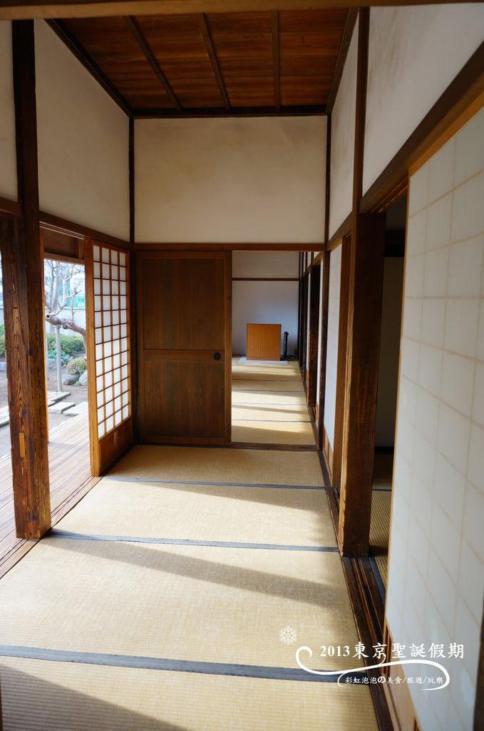 133.川越城本丸御殿-廊下、入側