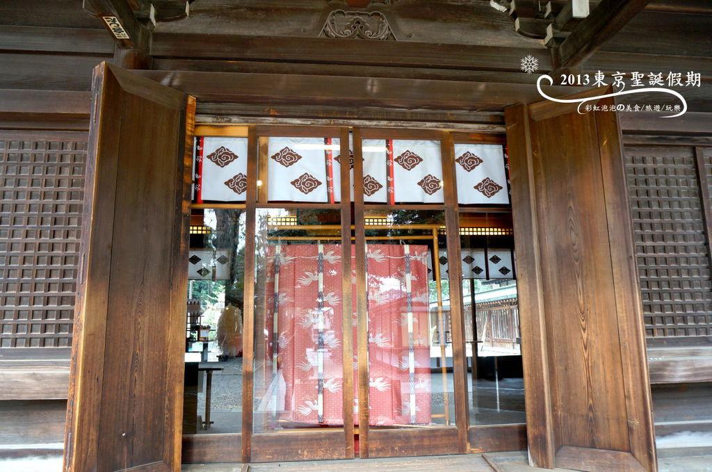 148.冰川神社-拜殿