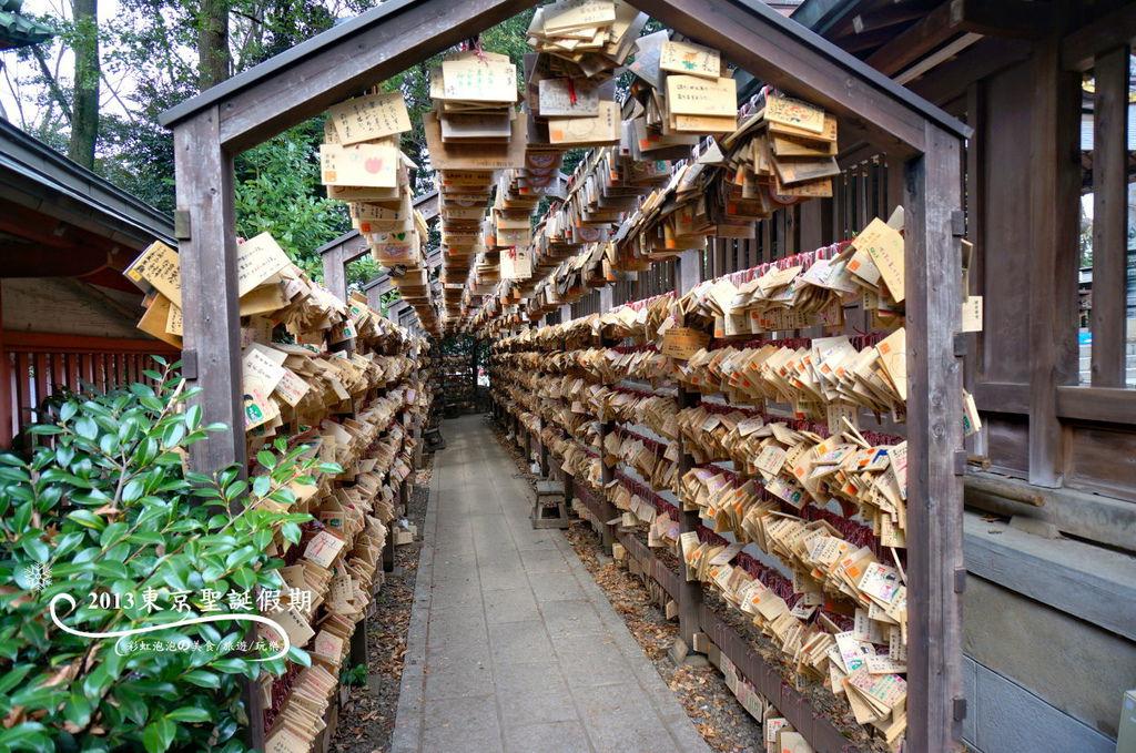162.冰川神社-繪馬隧道