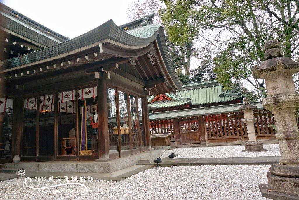 173.冰川神社-拜殿背面
