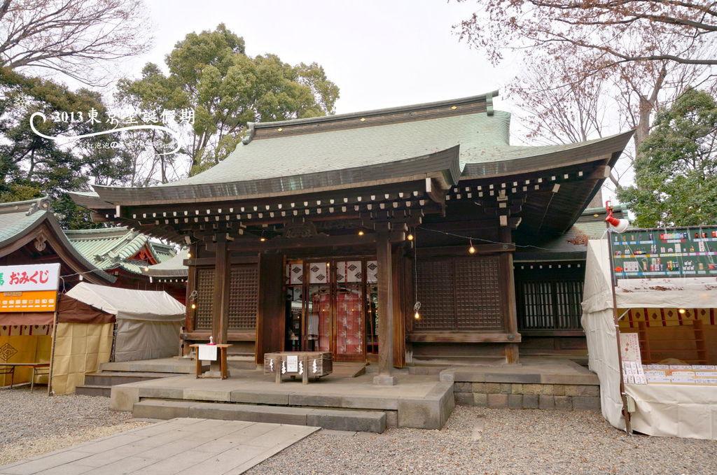 147.冰川神社-拜殿
