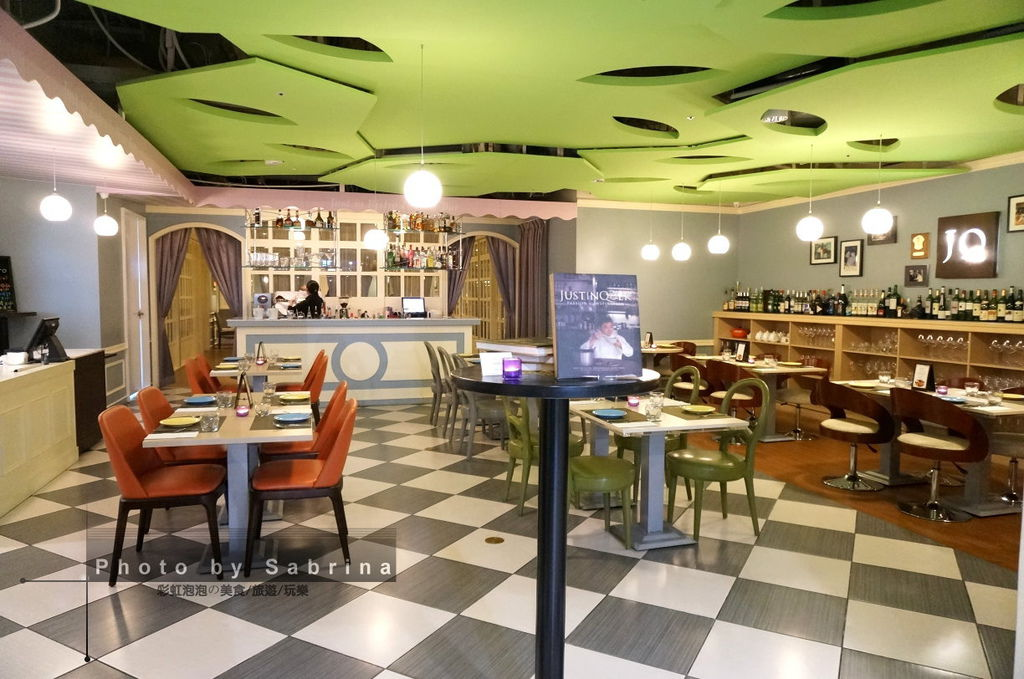 4.Justin Bistro & Wine Bar內部裝潢