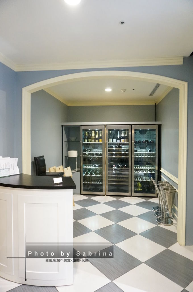 3.Justin Bistro & Wine Bar內部裝潢