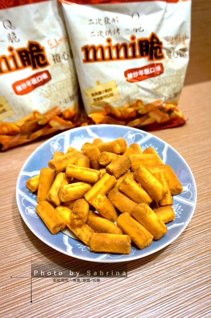 3.韓味不二-mini脆捲心餅