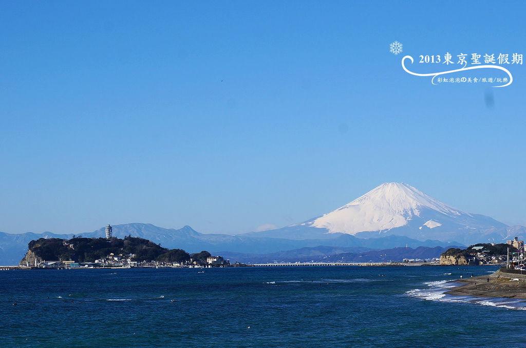 41.稻村崎賞富士山