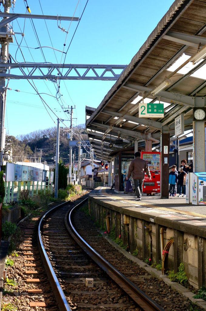 45.江之電稻村崎站