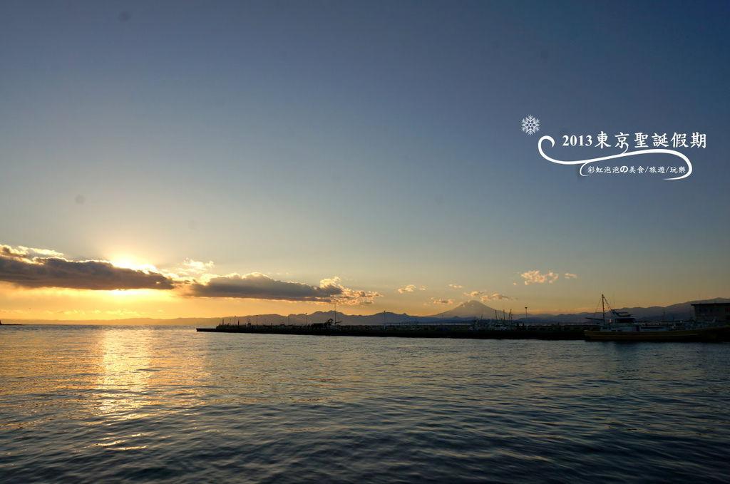 241.富士山、江之島夕陽