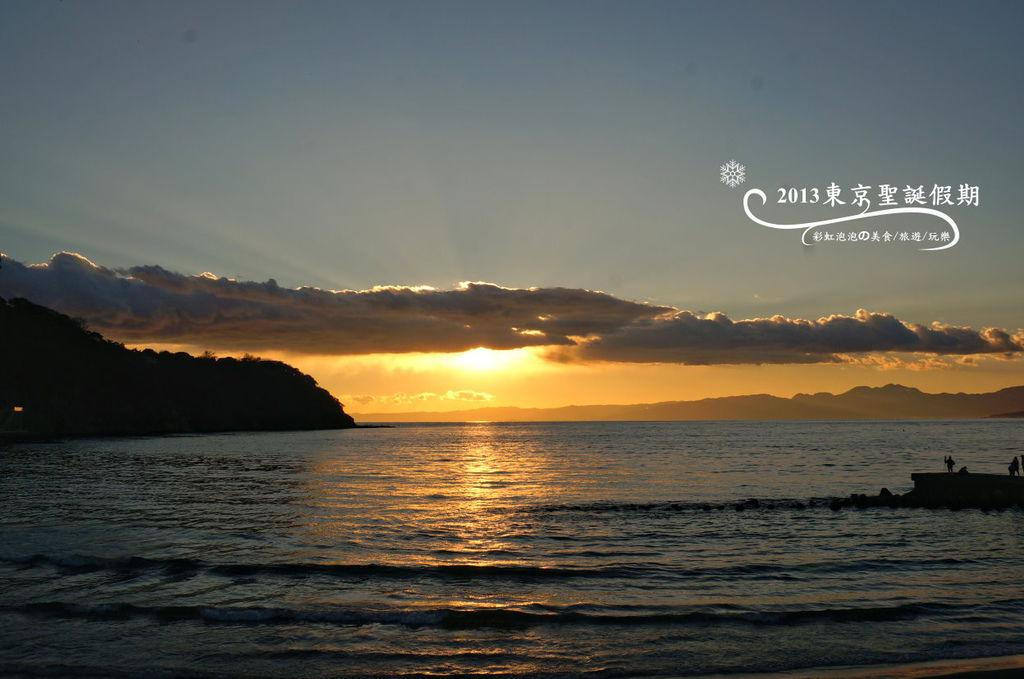 248.富士山、江之島夕陽