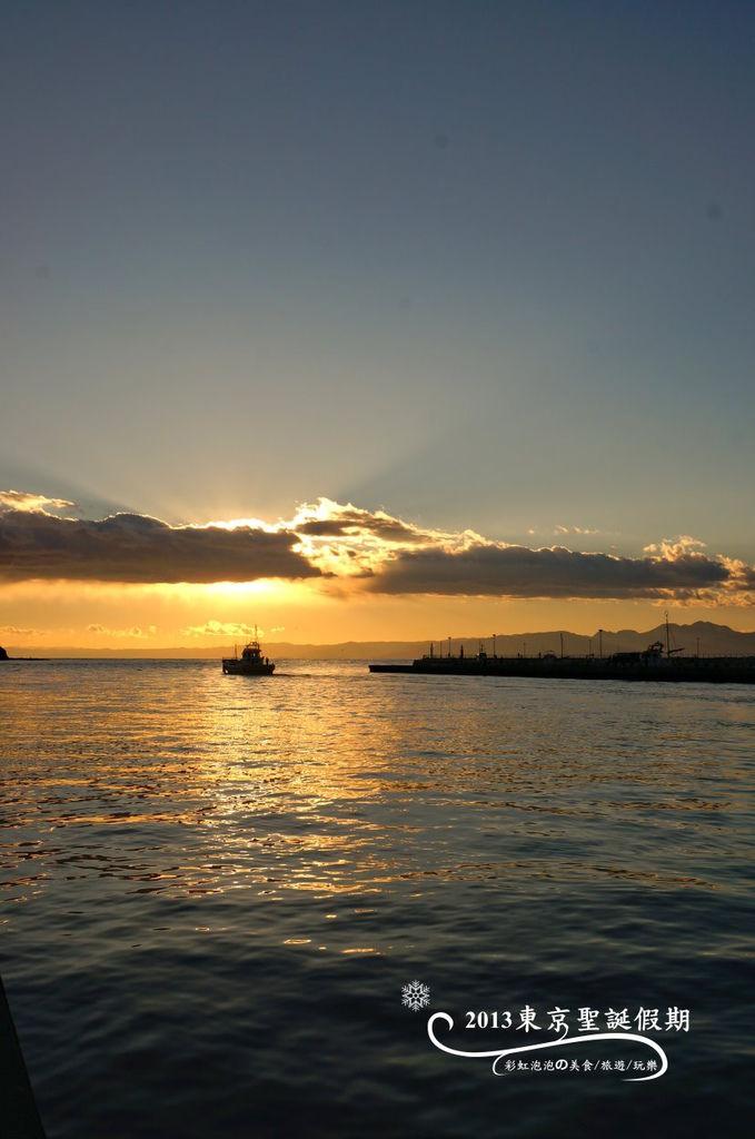 244.富士山、江之島夕陽