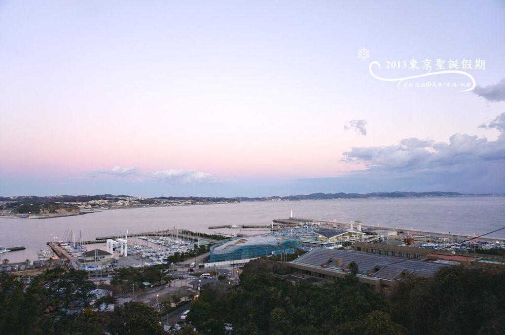 304.江島神社-俯瞰鐮倉市