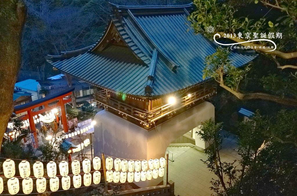 309.夜晚的江島神社
