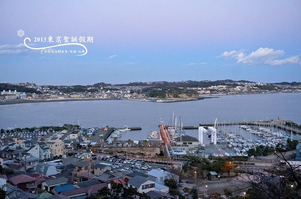 305.江島神社-俯瞰鐮倉市