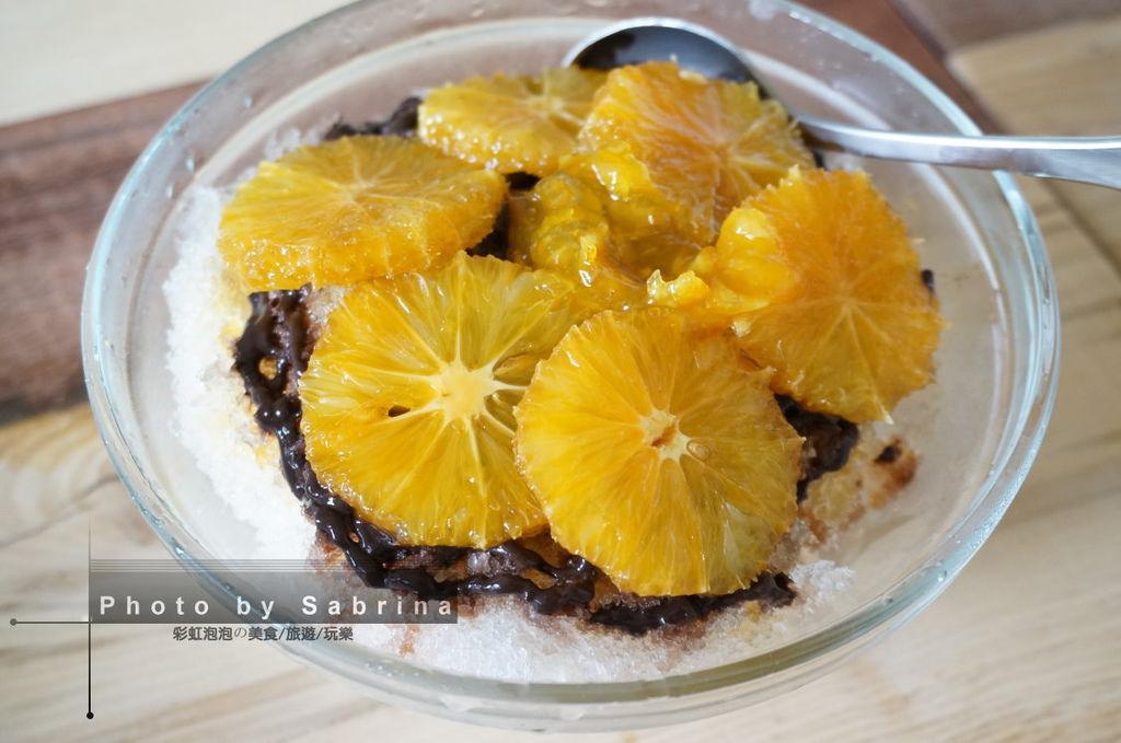 21.三時冰果室-巧克力糖漬橙片冰