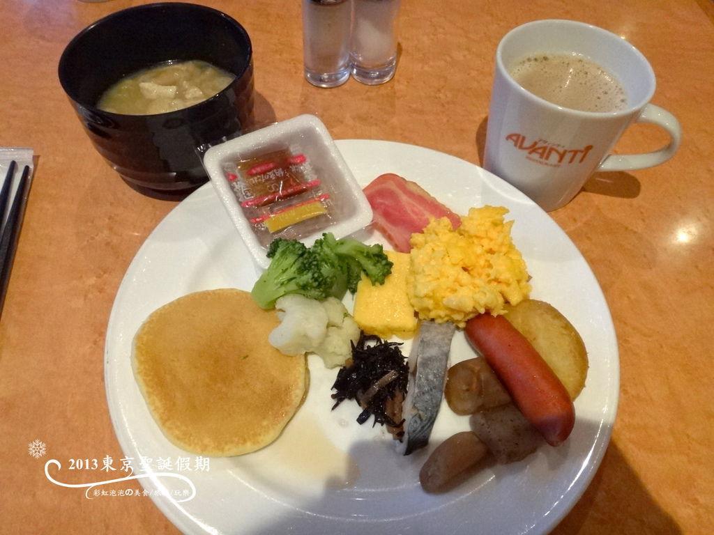 32.成田花園飯店早餐