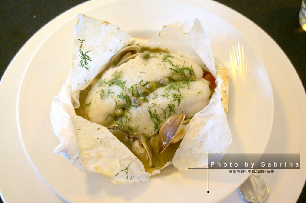 21.萊法小館-傳統法式紙包魚佐檸檬香草酸豆醬汁