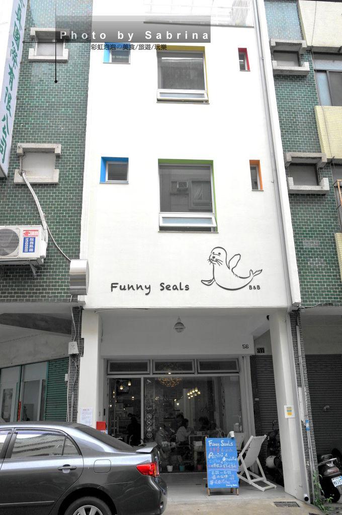 1.Funny Seals外觀