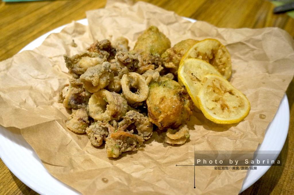 39.K2小蝸牛-炸目豆仔與拿波里炸海味褐藻包