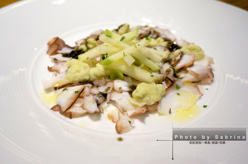 24.K2小蝸牛-八爪魚薄片佐青蘋果沙拉