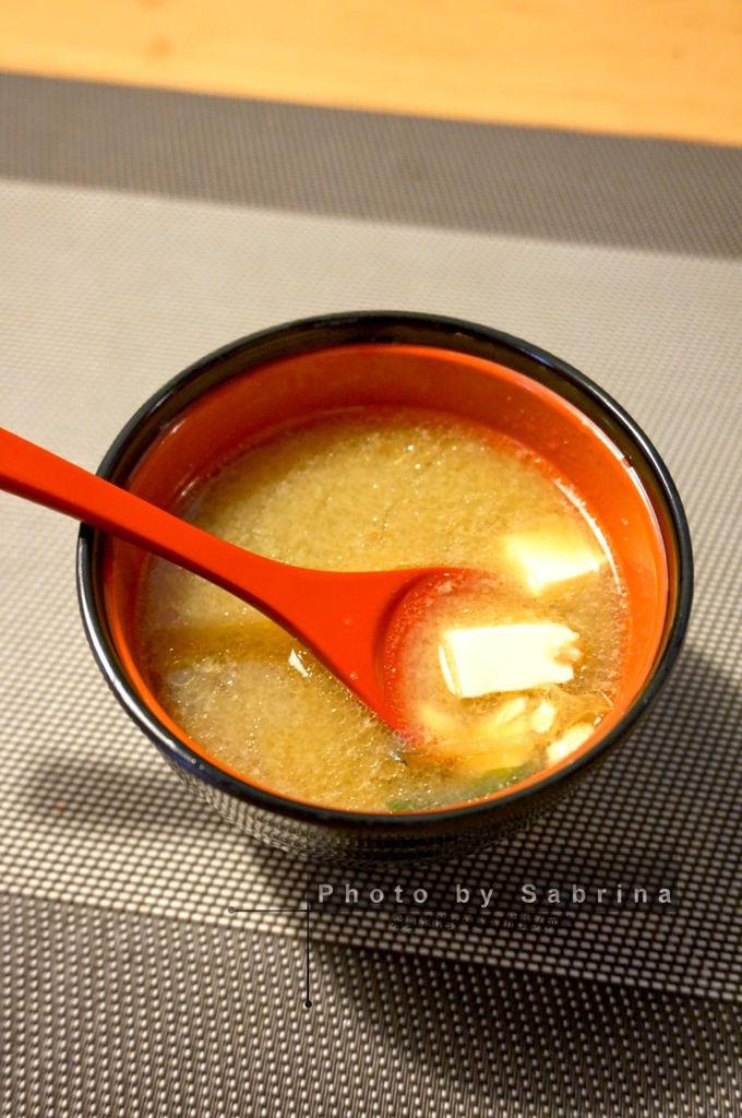 17.將將燒-套餐味噌湯