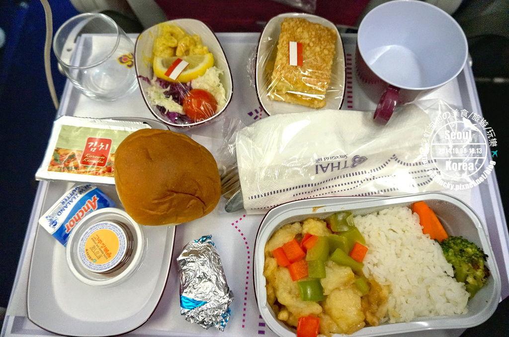 5.泰國航空飛機餐(回程)