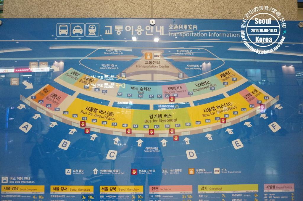 12.仁川機場抵達層平面圖