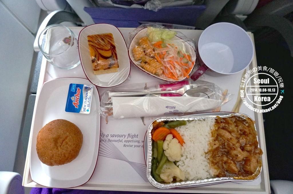4.泰國航空飛機餐